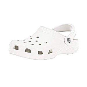 现价$19.99(原价$44.99)起Crocs 男女同款白色洞洞鞋优惠
