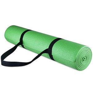 $10.99($14.95)BalanceFrom 多用途家用健身瑜伽垫 1/4寸厚 多色可选