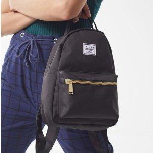 $42收封面同款(UO$64)黑五价:Herschel Supply 国民包包 INS网红同款热卖 低至5折