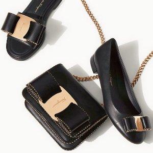 低至7折 收经典款小蝴蝶结鞋Salvatore Ferragamo 服饰、鞋履、美包热卖 男女款都参加