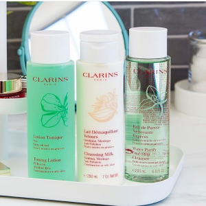 Clarins Water Purify One Step Cleanser with Mint Essential Water for Combination or Oily Skin, 6.80 Ounce @ Amazon