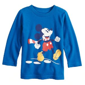 2a17f032 Jumping beansDisney's Mickey Mouse Toddler Boy Softest Graphic Tee by Jumping  Beans®