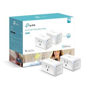 $26.99 (原价$44.99)Kasa HS105 WiFi 智能插座2个装