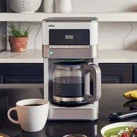 $52.65Braun KF6050WH BrewSense Drip Coffee Maker, White