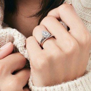 低至5折+免费退换股神巴菲特旗下Helzberg Diamonds 精选钻石、珠宝等情人节特卖