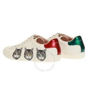 Gucci热卖,少量现货Ladies 猫咪运动鞋
