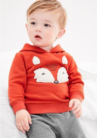婴儿狐狸卫衣2件套