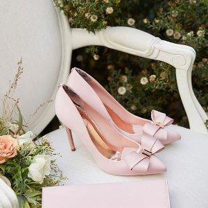 无门槛7折 收封面同款Ted Baker 美鞋专场 让你少女心泛滥的优雅蝴蝶结