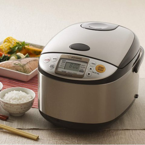 Zojirushi NS-TSC10 Micom Rice Cooker and Warmer, 5.5-Cup