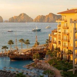 $123/晚起 下加州海滨度假胜地墨西哥卡波圣卢卡斯 Villa del Arco 海滨度假酒店好价