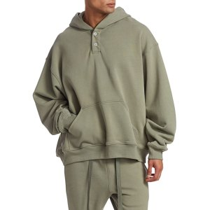 Fear of God- Core Everyday Henley Hoodie