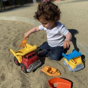 全场8折 $15收黄色小船GREEN TOYS 环保儿童玩具热卖 $8收拨浪鼓钥匙玩具