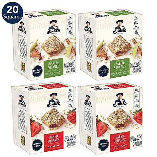 早餐燕麦能量棒 (苹果和草莓口味)20个