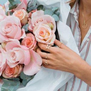 立享8.5折 细细的款式精致又时髦时尚轻珠宝品牌 AUrate 夏日特促
