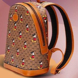仅$1099(原价:$1790)爆款限时特卖:Gucci Supreme 迪士尼联名双肩包 变相6.1折