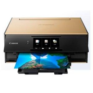 12日抢购价¥739 原价¥1099佳能 TS9120 多功能喷墨打印复印一体机 升级款