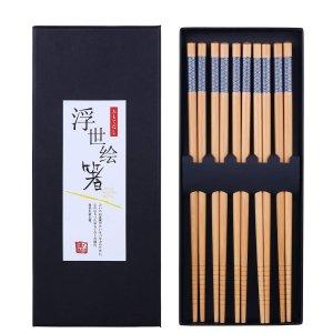 Antner 天然竹筷子5双