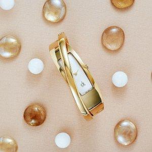 低至1.2折+额外8折 手链新款超美白菜价:Calvin Klein 时装腕表热卖