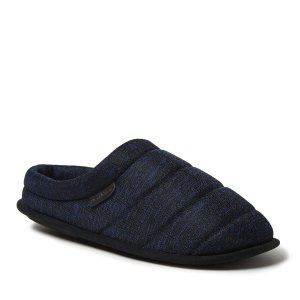 Dearfoams Men's Quilted Clog