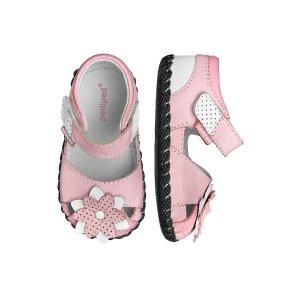 pediped婴儿 Mirabella 花朵凉鞋