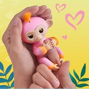 $7.79(原价$19.99)史低价:WowWee 互动可爱小猴指尖玩具