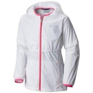 $19.98Columbia 女童ATHENA™防风防水长外套,2色选