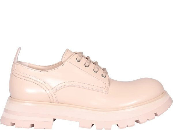 Wander Lace-Up粉色牛津鞋