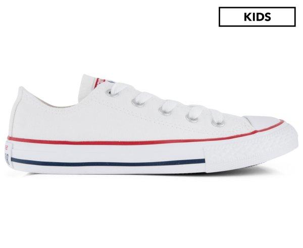 帆布鞋 - Optical White