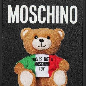 低至5折 $186收蛋糕泰迪熊T恤上新:Moschino 超萌小熊 $339收Logo芭蕾鞋