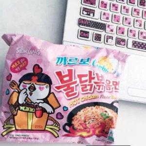 低至$1.99/包Samyang 韩国三养火鸡面  辣的酸爽 好吃上瘾