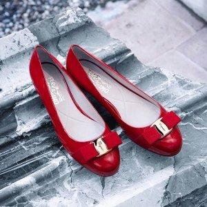 6折+额外最高6折 经典款$198折扣升级:Salvatore Ferragamo 女鞋热卖 部分码全