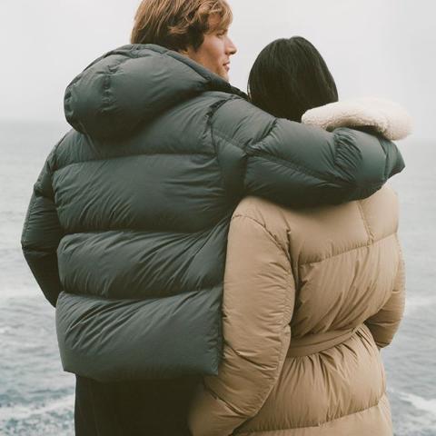 £135收保暖羊绒大衣Arket 北欧风简约大衣、羽绒服专场 让你潇洒温暖一秋冬