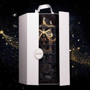 售价€350+送3件好礼Dior官网 抢先上架2020圣诞日历 24个迪奥标志性产品梦幻来袭