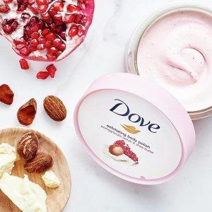 $5.67起(原价$6.97)Dove 冰淇淋身体磨砂膏 温和去角质 鸡皮克星