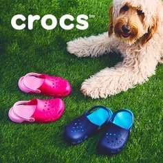 Last Day: Up to 70% OffCrocs Kids Shoes Sale @ Zulily
