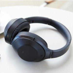 $349 (原价$429) 回国可退税Sony WH-1000XM2 新款无线降噪耳机 黑色