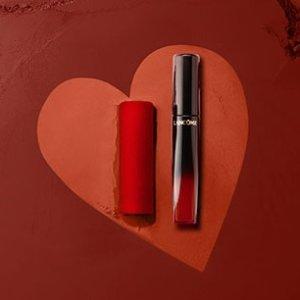 7.5折直接买 收神仙色号196兰蔻 2020年情人节限量系列惊天好价 唇釉口红一起收