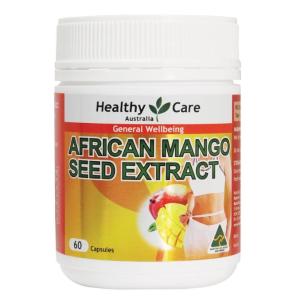 售价$17.99 植物增加饱腹感Healthy Care 非洲芒果籽控制食欲胶囊  减肥者福音