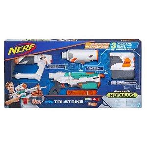 NERFModulus Tri-Strike Blaster Toy