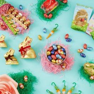 7.5折 $2.99收糖果色彩蛋Lindt 复活节主题巧克力全款促销热卖