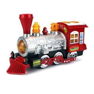 $12.93(原价$39.99)起Velocity Toys 复古声光电蒸汽火车,会吹泡泡的火车