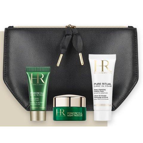 全站免运费+每单3小样+满€90再送封面套装Helena Rubinstein赫莲娜 贵妇级护肤 收绿宝瓶、黑白绷带