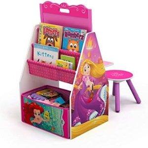 Delta Children Activity Center With Easel Desk Stool Toy Organizer