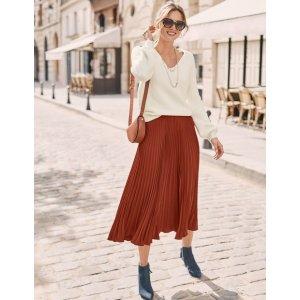BodenKristen Pleated Skirt