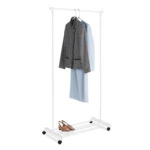 $6.97 衣物收纳必备Mainstays 可调节滚轮简易衣架