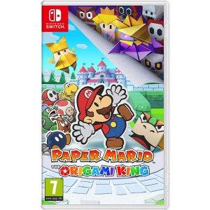 《纸片马里奥:折纸王》Nintendo Switch  实体版
