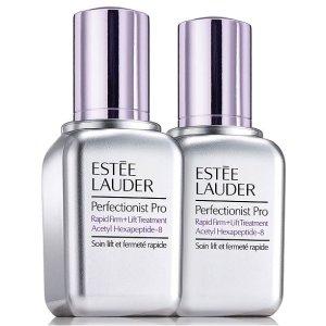 Estee Lauder价值$216双小银瓶套装