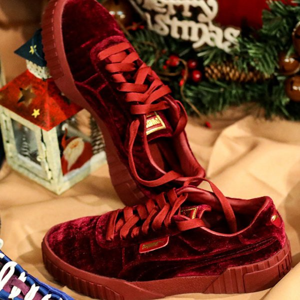 Cali 丝绒女鞋