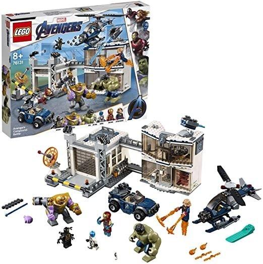Marvel Avengers复仇者联盟 系列 76131基地大决战