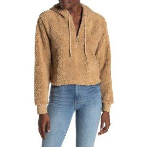 Cotton OnTeddy Faux Fur Hoodie